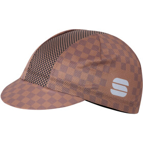 Sportful Mate Cap Heren, chocolate coconut black